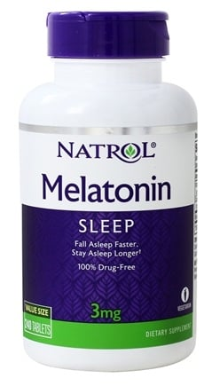Natrol - Melatonin 3 mg. - 240 Tablets