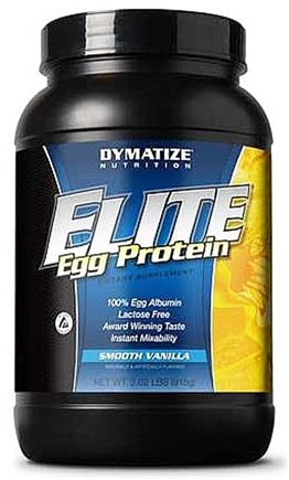 DROPPED: Dymatize Nutrition - Elite Egg Protein Vanilla - 2.02 lbs.