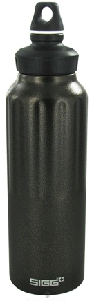 DROPPED: Sigg - Aluminum Water Bottle Wide Mouth Traveler Graphite Bronze - 1.5 Liter(s)