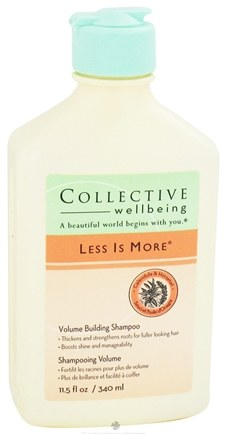 DROPPED: Collective Wellbeing - Shampoo Less Is More Volume Building Calendula & Horsetail - 11.5 oz.