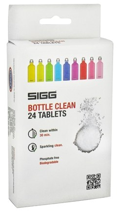 DROPPED: Sigg - Bottle Clean - 24 Tablets