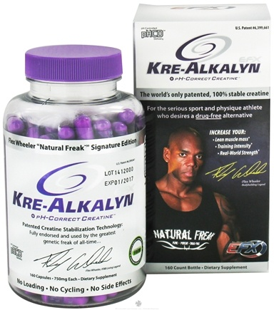 DROPPED: All American EFX - Kre-Alkalyn EFX 750 mg. - 160 Capsules CLEARANCE PRICED