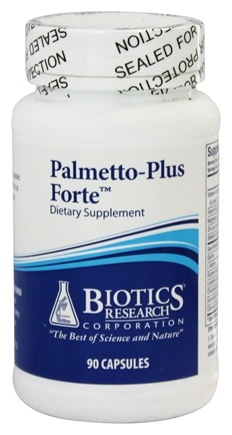 Biotics Research - Palmetto-Plus Forte - 90 Capsules