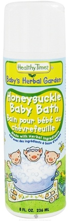 DROPPED: Healthy Times - Baby's Herbal Garden Baby Bath Honeysuckle - 8 oz. CLEARANCE PRICED