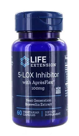 Life Extension - 5-Lox Inhibitor with Apresflex 100 mg. - 60 Vegetarian Capsules