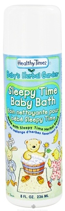 DROPPED: Healthy Times - Baby's Herbal Garden Baby Bath Sleepy Time - 8 oz. CLEARANCE PRICED