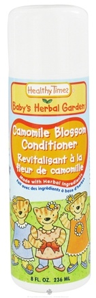 DROPPED: Healthy Times - Baby's Herbal Garden Conditioner Camomile Blossom - 8 oz. CLEARANCE PRICED