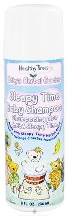 DROPPED: Healthy Times - Baby's Herbal Garden Baby Shampoo Sleepy Time - 8 oz.