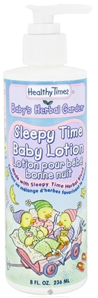 DROPPED: Healthy Times - Baby's Herbal Garden Baby Lotion Sleepy Time - 8 oz. CLEARANCE PRICED