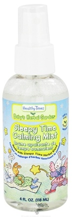 DROPPED: Healthy Times - Baby's Herbal Garden Calming Mist Sleepy Time - 4 oz. CLEARANCE PRICED