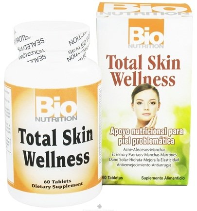 DROPPED: Bio Nutrition - Total Skin Wellness - 60 Tablets CLEARANCE PRICED