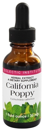 DROPPED: Eclectic Institute - California Poppy - 1 oz.