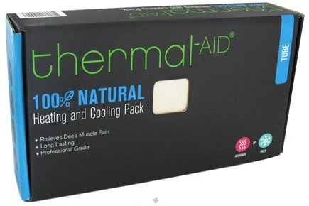 """DROPPED: Thermal-Aid - 100% Natural Heating and Cooling Pack - Tube 5"""" X 22.5"""" - CLEARANCE PRICED"""