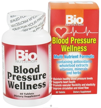DROPPED: Bio Nutrition - Blood Pressure Wellness - 60 Tablets