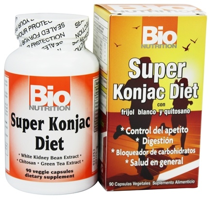 Bio Nutrition - Super Konjac Diet - 90 Vegetarian Capsules