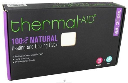 """DROPPED: Thermal-Aid - 100% Natural Heating and Cooling Pack - Small Sectional 9"""" X 13"""" - CLEARANCE PRICED"""