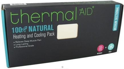 """DROPPED: Thermal-Aid - 100% Natural Heating and Cooling Pack - Medium Sectional 13"""" X 14.5"""" - CLEARANCE PRICED"""
