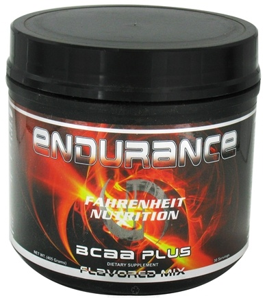 DROPPED: Fahrenheit Nutrition - Endurance BCAA Plus Flavored Mix - 30 Servings - 405 Grams CLEARANCE PRICED