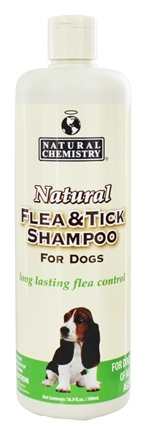 DROPPED: Natural Chemistry - Natural Flea & Tick Shampoo For Dogs - 16.9 oz.