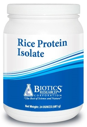 DROPPED: Biotics Research - Rice Protein Concentrate - 24 oz.