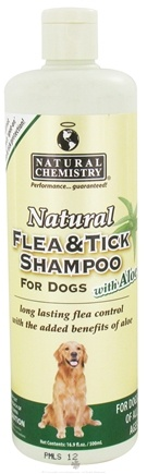 DROPPED: Natural Chemistry - Natural Flea & Tick Shampoo With Aloe For Dogs - 16.9 oz.