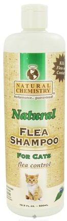 DROPPED: Natural Chemistry - Natural Flea Shampoo For Cats - 16.9 oz. CLEARANCE PRICED