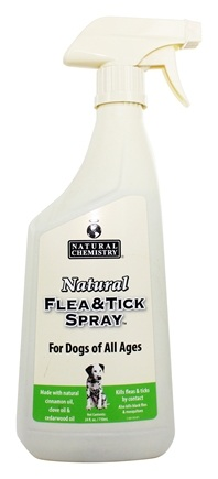 Natural Chemistry - Natural Flea & Tick Spray For Dogs - 24 oz.