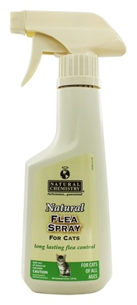 Natural Chemistry - Natural Flea Spray For Cats - 8 oz.