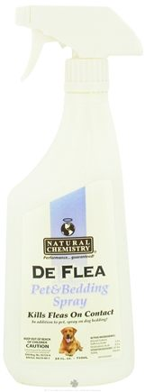 DROPPED: Natural Chemistry - DeFlea Pet & Bedding Spray - 24 oz.