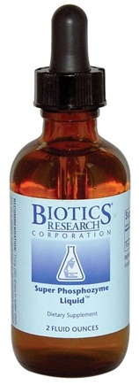 DROPPED: Biotics Research - Super Phosphozyme Liquid - 2 oz. CLEARANCE PRICED