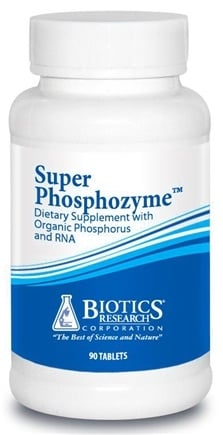 DROPPED: Biotics Research - Super Phosphozyme - 90 Tablets