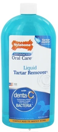DROPPED: Nylabone - Advanced Oral Care Liquid Tartar Remover - 32 oz.