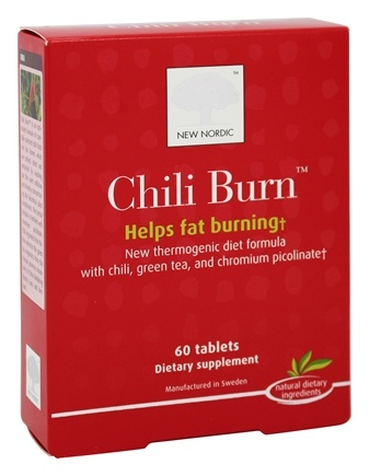 New Nordic - Chili Burn - 60 Tablets