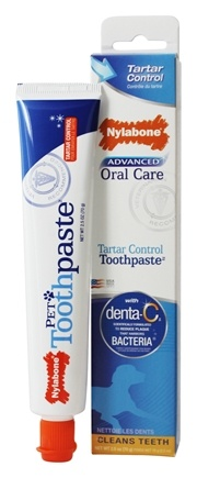 Nylabone - Advanced Oral Care For Dogs Tartar Control Toothpaste - 2.5 oz.