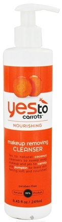 DROPPED: Yes To - Carrots Makeup Removing Cleanser - 8.45 oz. CLEARANCE PRICED