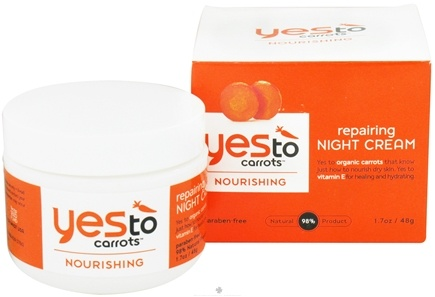 DROPPED: Yes To - Carrots Repairing Night Cream - 1.7 oz. CLEARANCE PRICED