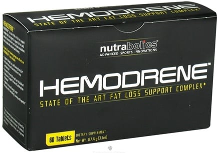 DROPPED: Nutrabolics - Hemodrene - 60 Tablets CLEARANCE PRICED
