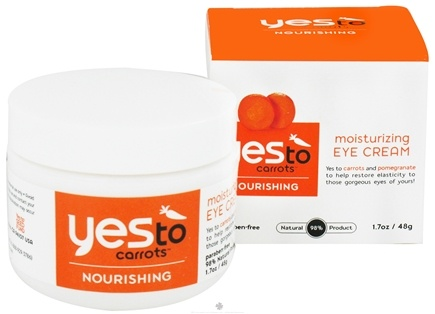 DROPPED: Yes To - Carrots Moisturizing Eye Cream - 1.7 oz.