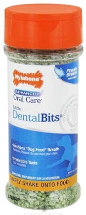 DROPPED: Nylabone - Advanced Oral Care Edible Dental Bits - 4 oz. CLEARANCE PRICED