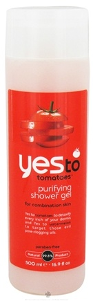DROPPED: Yes To - Tomatoes Purifying Shower Gel - 16.9 oz. CLEARANCE PRICED