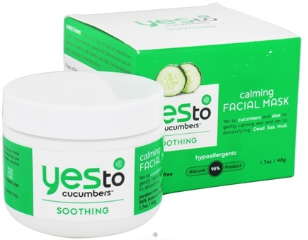 DROPPED: Yes To - Cucumbers Calming Facial Mask - 1.7 oz. CLEARANCE PRICED