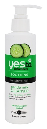 DROPPED: Yes To - Cucumbers Gentile Milk Cleanser - 6 oz. CLEARANCE PRICED