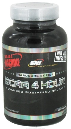 DROPPED: SNI - Elite Series 4 Hour BCAA - 90 Tablets CLEARANCE PRICED