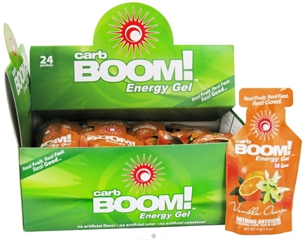 DROPPED: Carb BOOM - Energy Gel Vanilla Orange - 1.4 oz.