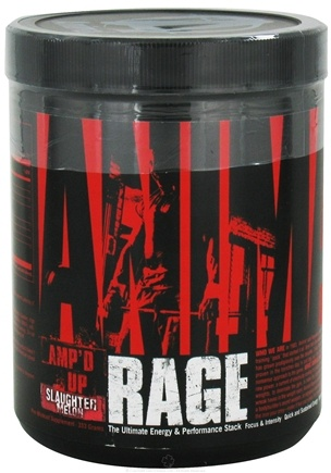 DROPPED: Universal Nutrition - Animal Rage Amp'd Up Concentrated Powder Slaughter Melon - 333 Grams CLEARANCE PRICED