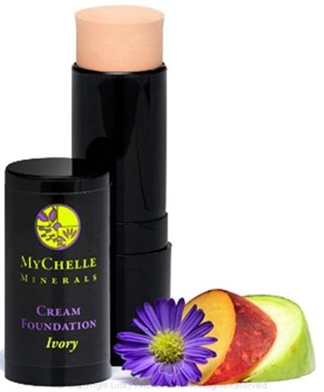 MyChelle Dermaceuticals - Minerals Cream Foundation Ivory - 0.4 oz.