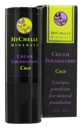 DROPPED: MyChelle Dermaceuticals - Minerals Cream Foundation Coco - 0.4 oz. CLEARANCE PRICED