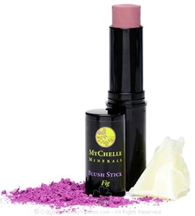 DROPPED: MyChelle Dermaceuticals - Minerals Blush Stick Fig - 0.4 oz. CLEARANCE PRICED