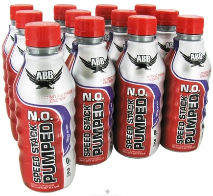 DROPPED: ABB Performance - Speed Stack Pumped NO Nitric Oxide Energy Grape - 22 oz. CLEARANCE PRICED
