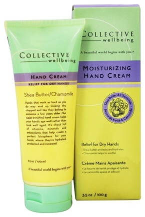 DROPPED: Collective Wellbeing - Moisturizing Hand Cream with Shea Butter & Chamomile - 3.5 oz.